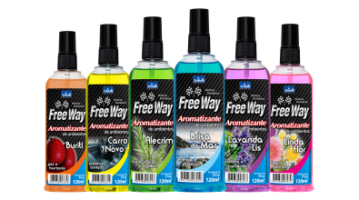 Aromatizante Automotivo Free Way - Spray 120ml