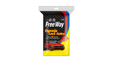 Esponja Lava Autos Free Way
