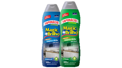 Saponáceo Cremoso Magic Brilho 300ml